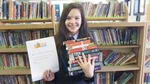 Student Librarians run Book Exchange