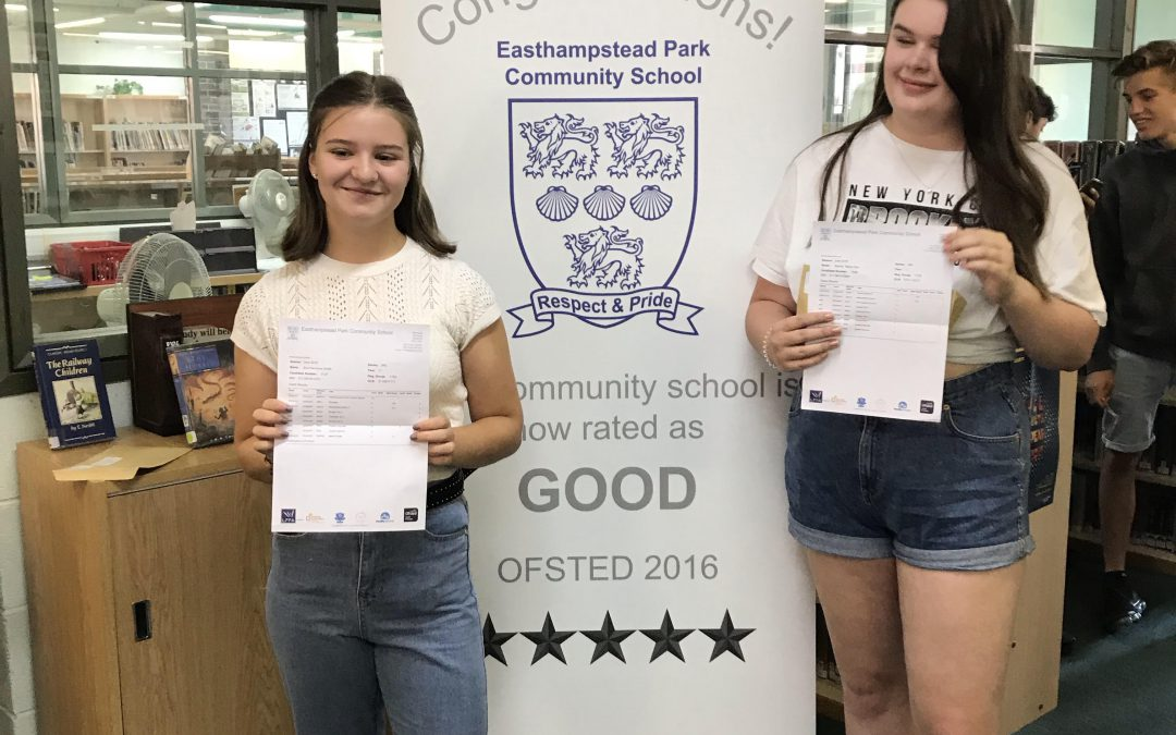 Well done to our Year 11s for their GCSE results!