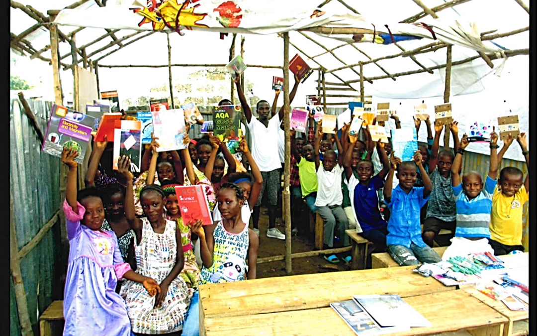 EPCS donates learning resources to school in Sierra Leone
