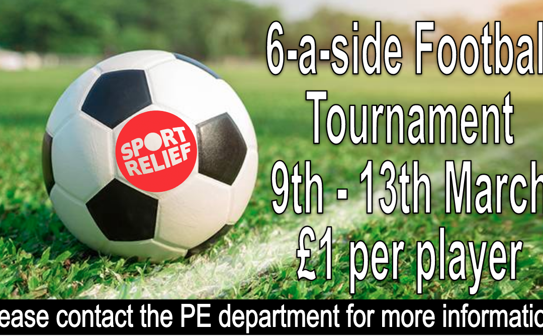 EPCS 6-a-side football competition in aid of Sports Relief
