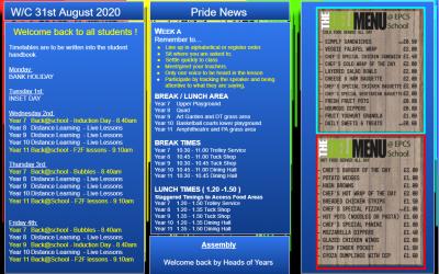 W/c 31.08.2020 Tutor Slide Y7-Y11