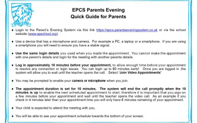 EPCS6 Parents Evening