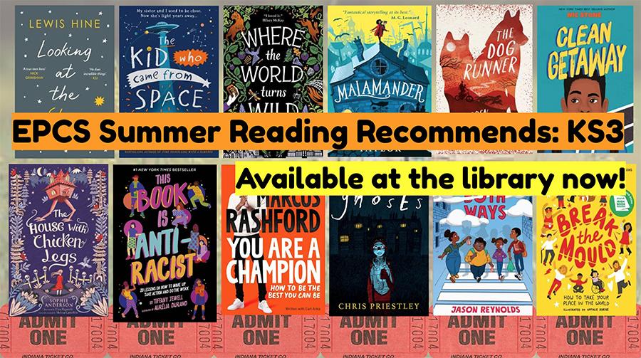 Summer Reading Recommendations, KS3