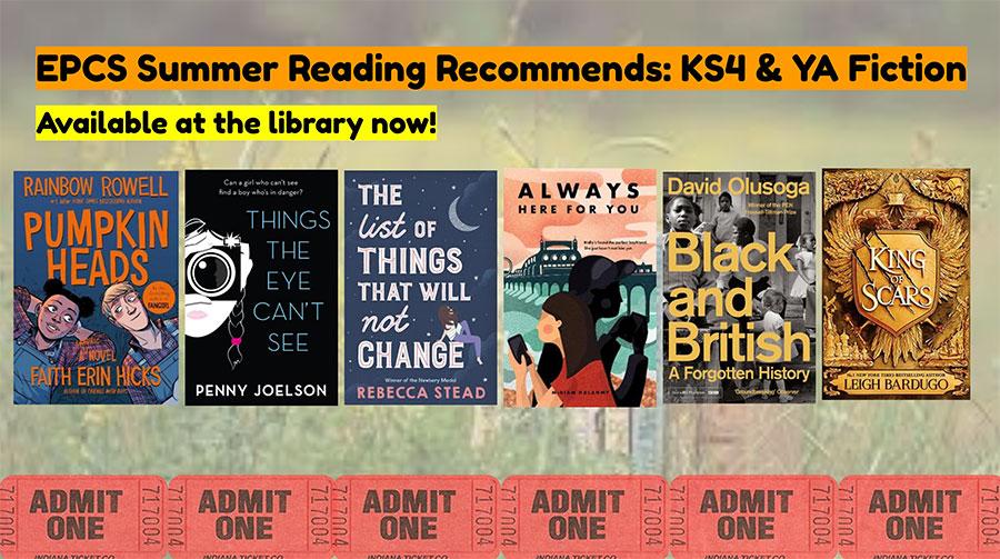 Summer Reading Recommendations. KS4