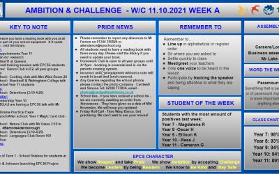 W/c 11.10.2021 Tutor Slide Y7-Y11 Week B